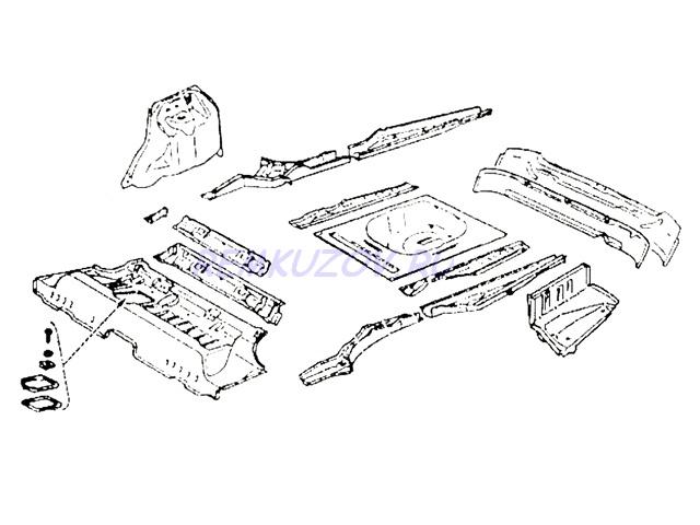 ВАЗ 2110, Схема