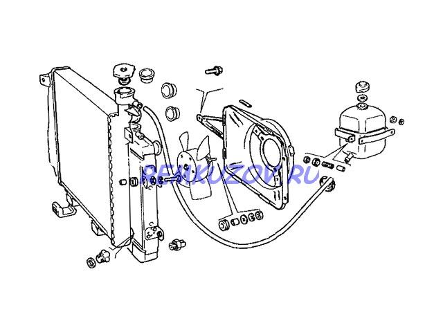 Радиатор охлаждения ВАЗ 2106: http://www.remkuzov.ru/catalog/info/Detali_kuzova_VAZ/radiator_ohlazhdeniya_alyuminij_VAZ_2106/