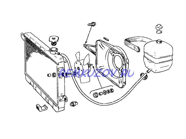 радиатор охлаждения алюминий