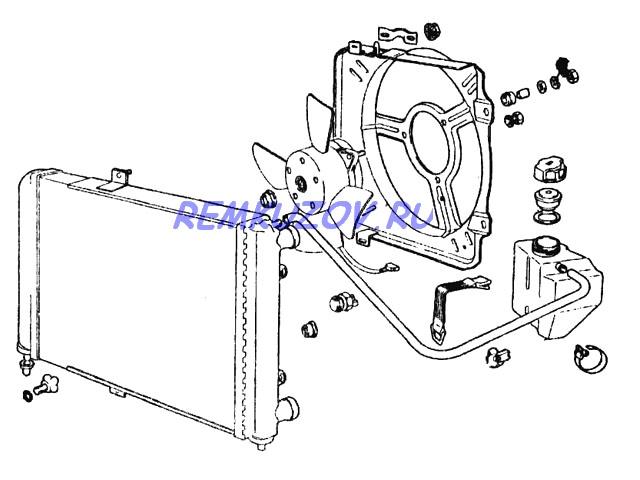Радиатор охлаждения ВАЗ 21082 инжекторный: http://www.remkuzov.ru/catalog/info/Detali_kuzova_VAZ/radiator_ohlazhdeniya_alyuminij_inzhektornyj_VAZ_21082/