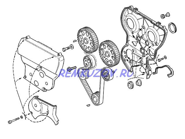 образца (3 части) ВАЗ 2110