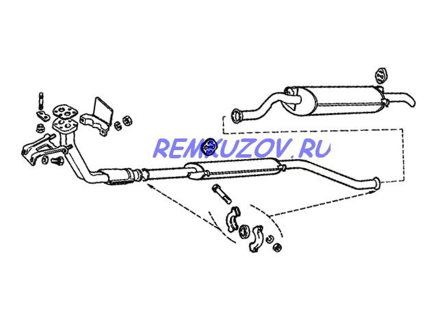 глушитель ВАЗ 2115 усиленный