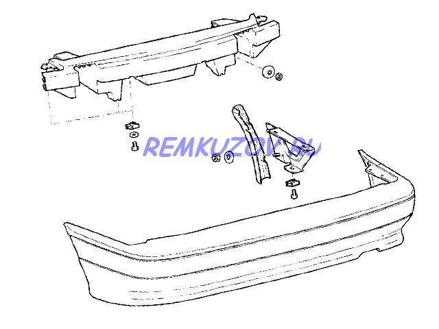 ВАЗ 2115(пластик) · Схема