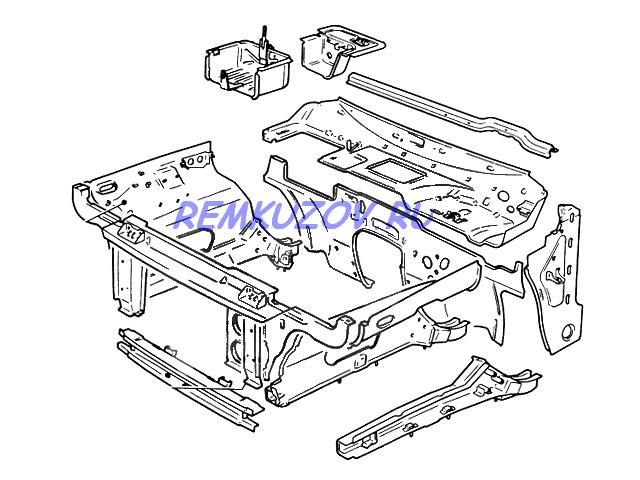 рамка радиатора ВАЗ 21213